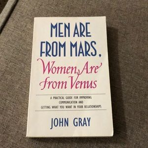 Book Men Are From Mars John Gray